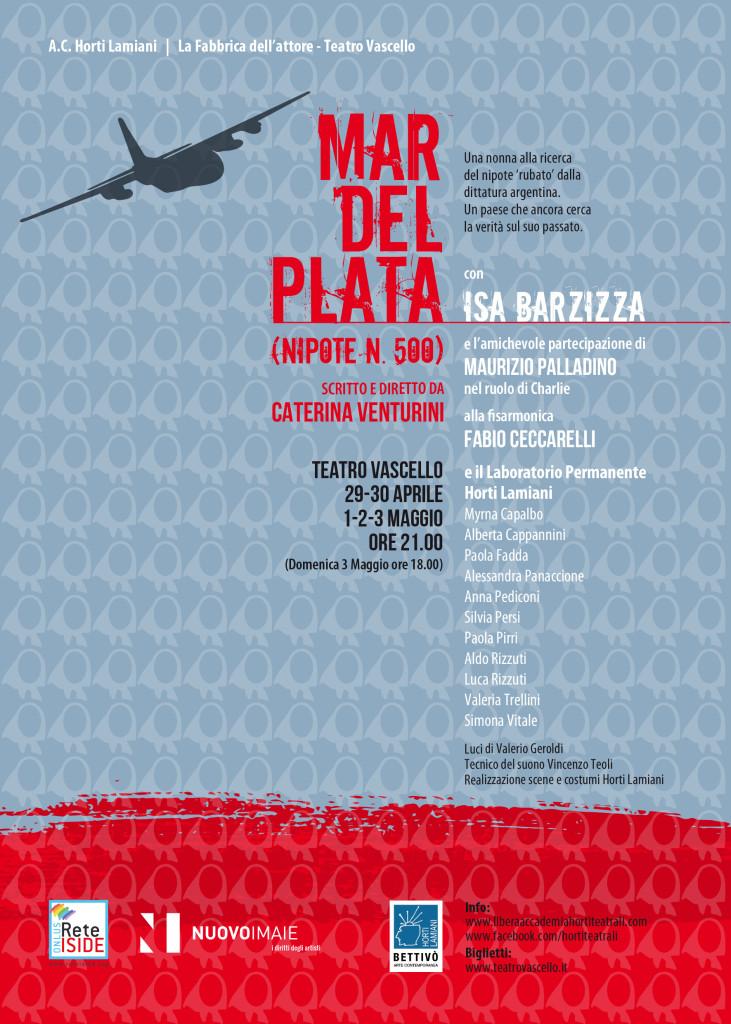 Mar del Plata – Teatro Vascello 29 aprile – 3 maggio