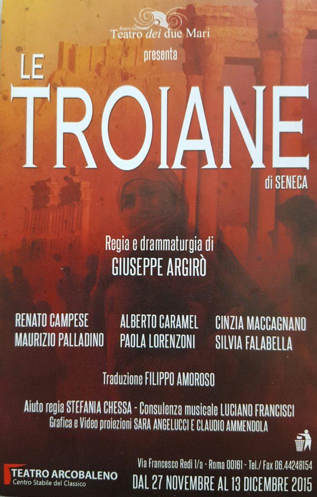 Le Troiane  – di Seneca