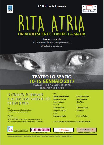 RITA ATRIA – un'adolescente contro la mafia