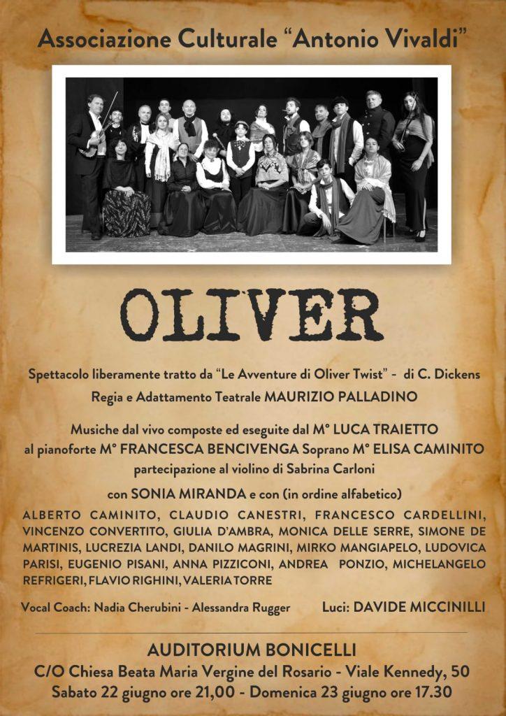 Oliver – regia di Maurizio Palladino